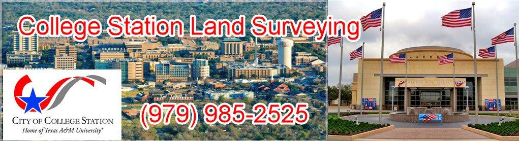 College Station Land Surveying Header