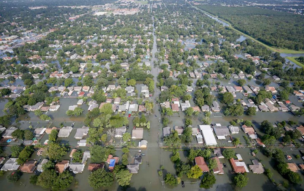 elevation certificate - houston texas harvey flooding